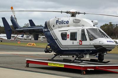VH-WAH BK117B-2 Western Australia Police 'Malcolm D Stanaway II' (Based)