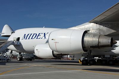 A6-MDI B747-200F Midex International 'Midex 9'. Delivered 6/10, ex F-GCBM Air France Cargo (WFU Dec07).