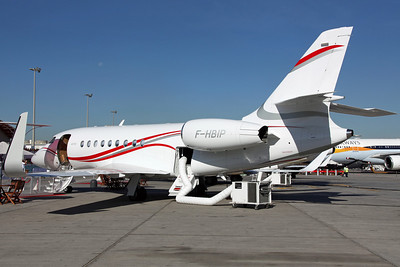 F-HBIP Falcon 2000LX Dassault Aviation. Registered on 26th September (OY-ZWO NTU).
