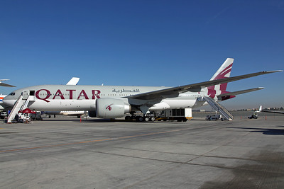A7-BBB B777-200LR Qatar Airways