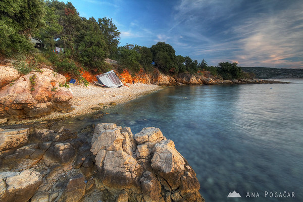 Sunset on Island Krk