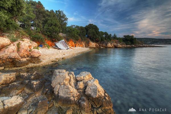 Sunset on Island Krk