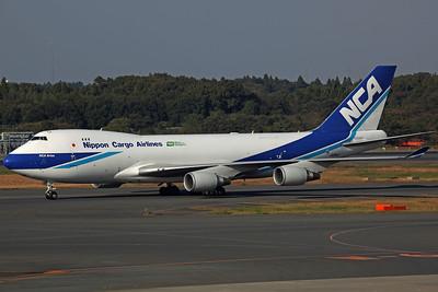 JA08KZ B747-400F Nippon Cargo Airlines