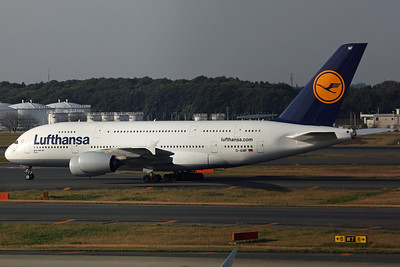 D-AIMF A380-800 Lufthansa (Delivered in April)
