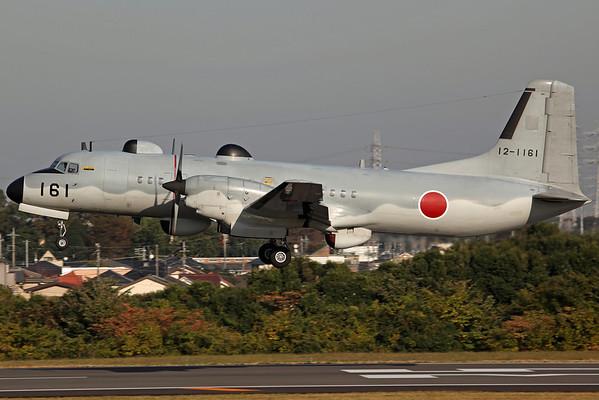 12-1161 YS-11EB (2160) JASDF Electronic Intelligence Squadron