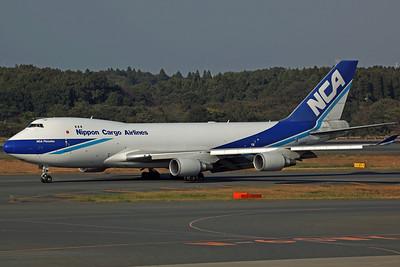 JA01KZ B747-400F Nippon Cargo Airlines