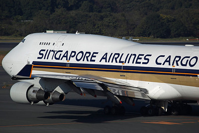 9V-SCA B747-400BCF Singapore Airlines Cargo (ex Singapore Airlines 9V-SPA, converted to freighter in May)