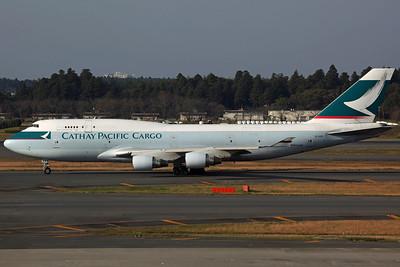 B-HKX B747-400BCF Cathay Pacific Cargo