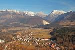 Kamnik Alps from Stari grad
