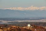 St. Ana Church and Mt. Triglav