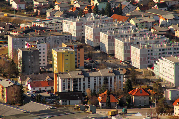 Kamnik from Stari grad