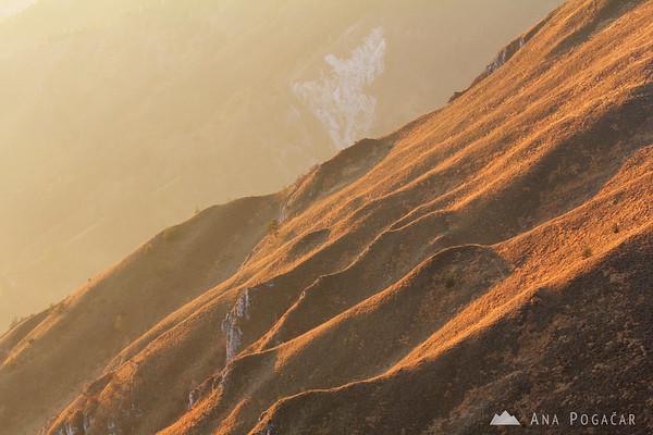 Slopes of Kamniški vrh hill