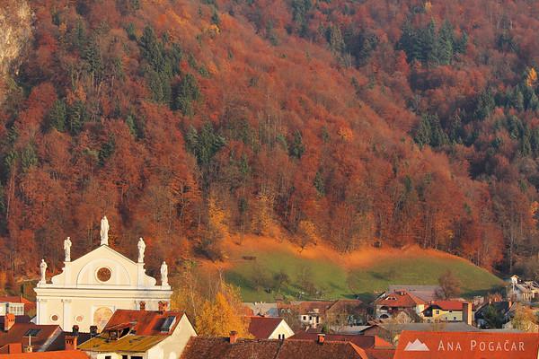 Kamnik and the slopes of Stari grad
