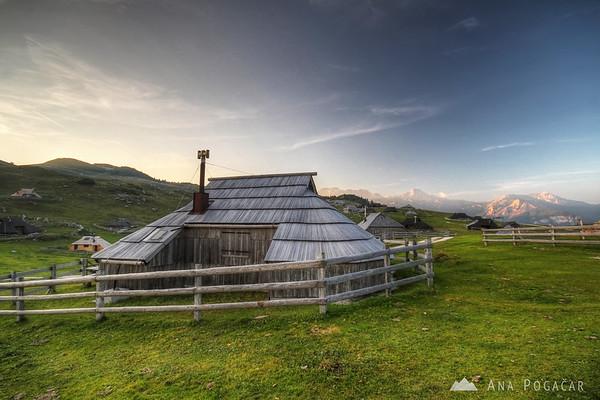 Velika planina cottages
