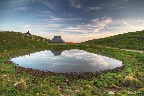 Typical Velika planina scenery