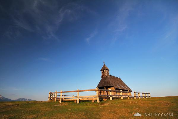 Velika planina chapel