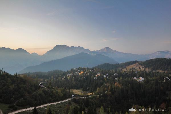 Velika planina village