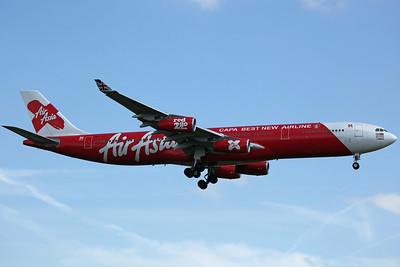 9M-XAB A340-300X Air Asia X