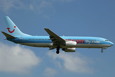 G-CDZH B737-800 Thomson Airways