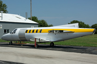 Cessna 550 Fuselage Kansas University Department of Aerospace Engineering (Lawrence Municipal Airport)