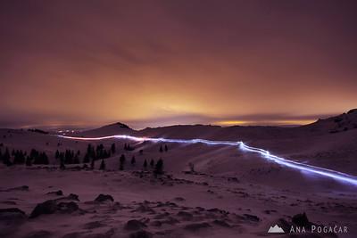 Velika planina midnight mass - Dec 25, 2011