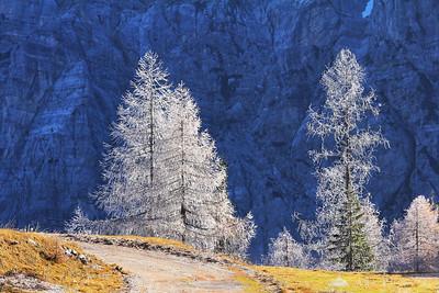 Vršič Pass - Nov 12, 2011