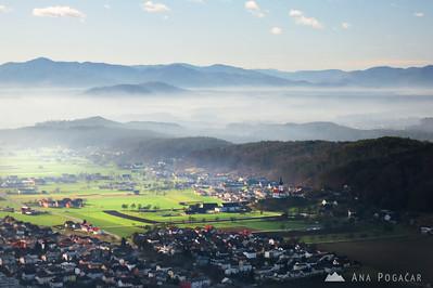 Above Kamnik - Dec 28, 2012