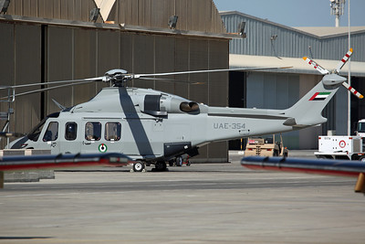 UAE-354 AW-139 UAE AF JHF (Joint Headquaters Flight)