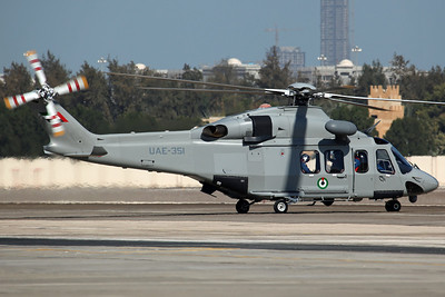 UAE-351 AW-139 UAE AF JHF (Joint Headquaters Flight)