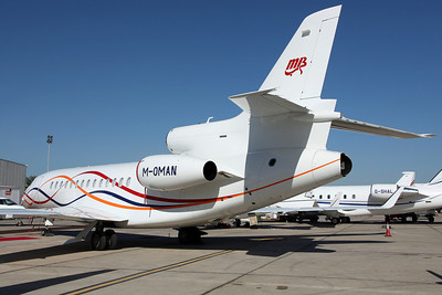 M-OMAN Falcon 7X Empire Aviation Group/RUWI Ltd