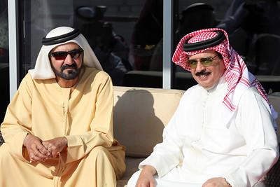 King Hamad & Sheikh Maktoum