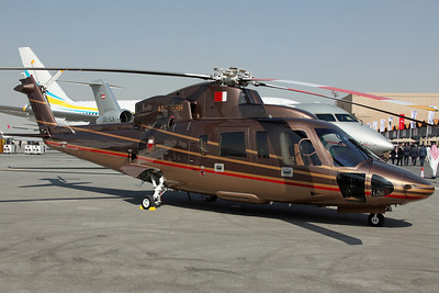 A9C-HRH S-76C++ Bahrain Royal Flight