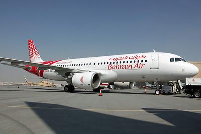 A9C-BAO A320-200 Bahrain Air
