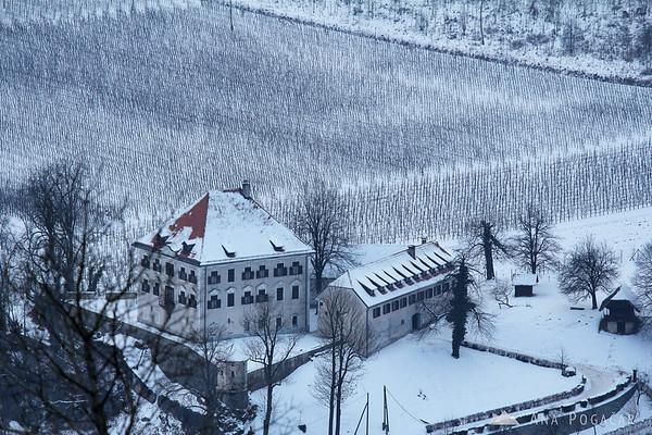 Zaprice castle from Stari grad hill