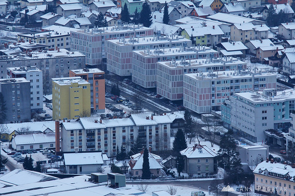 Kamnik from Stari grad hill