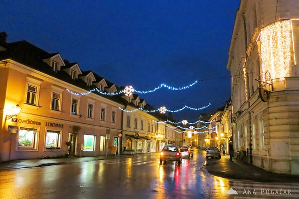 Main street in Kamnik