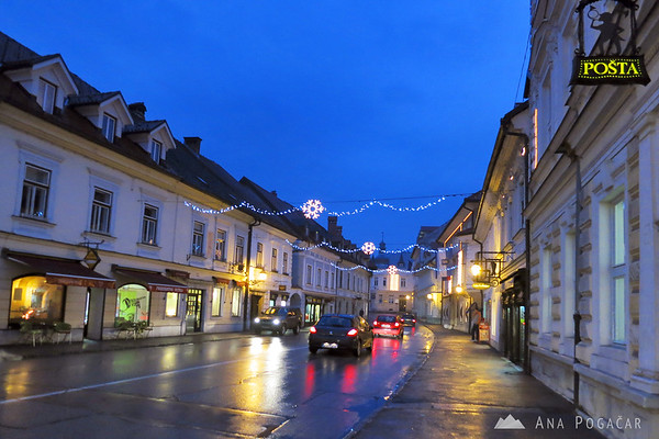 Main street in Kamnik
