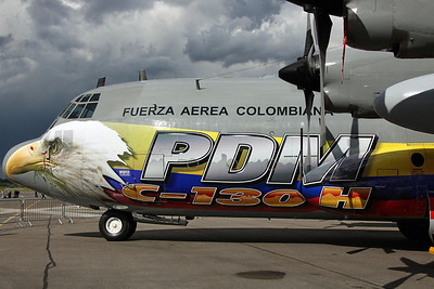 FAC1004 C-130H Colombian AF 811SQ. Special colours.