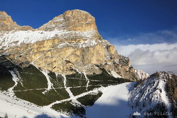 Mt. Sassongher above Colfosco