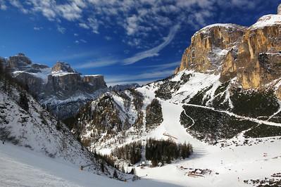 Skiing in the Dolomites - Jan 21-28, 2012