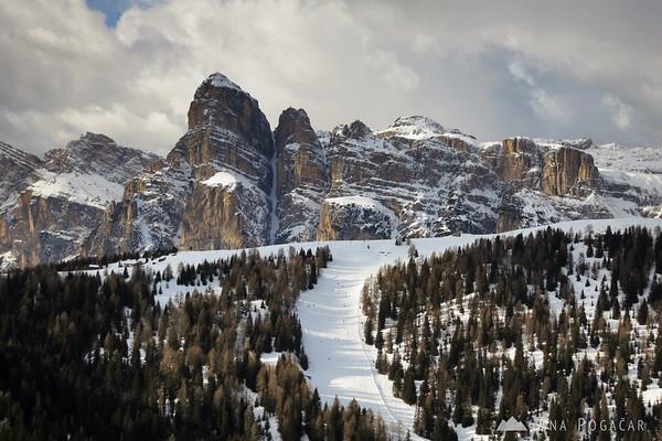Skiing in Alta Badia