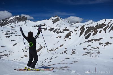 Skiing on Moelltal - May 10, 2012