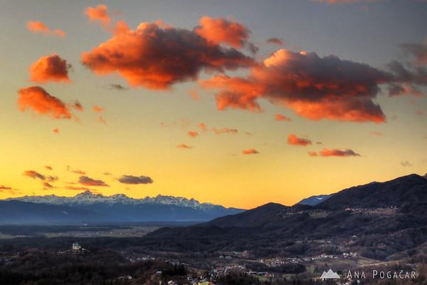 Mt. Triglav in the distance