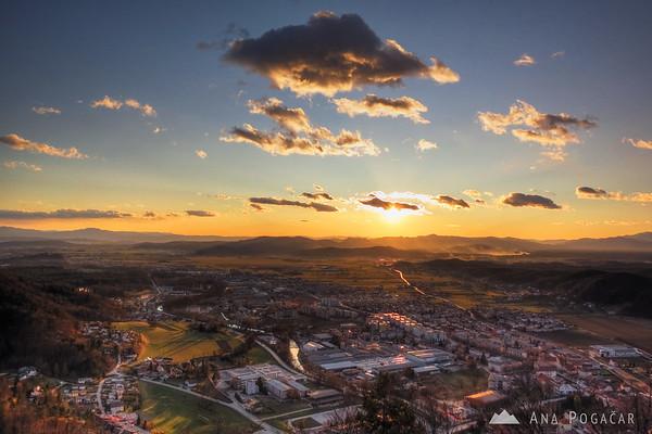 Views of Kamnik