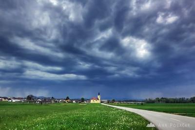 Stormy skies - May 1, 2012