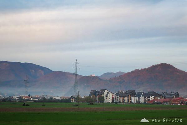 Duplica; Stari grad and Špica hills in the background.