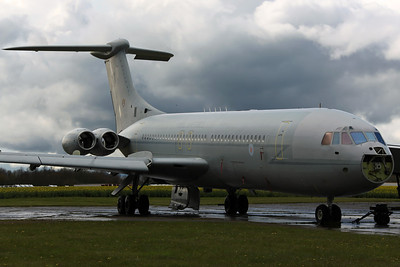 XV102/T VC-10 C1K RAF 101Sq. Arrived on 12/12/11 for scrapping. Bruntingthorpe 22/4/12.