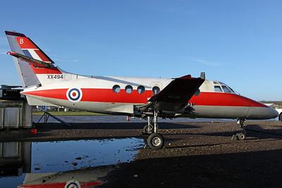 XX494/B Jetstream T1 RAF 45(R)Sq (Cold War Jet Collection): Bruntingthorpe