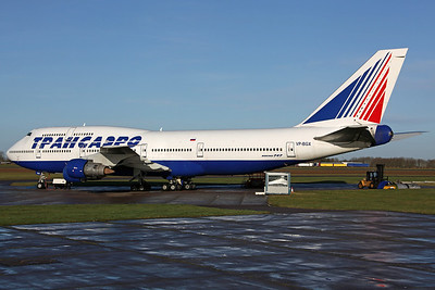 VP-BGX B747-400 Transaero (Arrived on 3rd for storage)