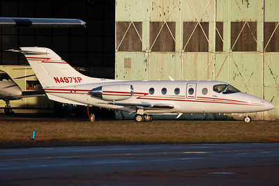 N497XP Beechjet 400XP V&P Midlands Ltd (Based)